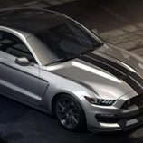 Ford Shelby Mustang GT 350 - aérea