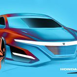US-specs Honda Civic sedan Type-R by Clément Morice