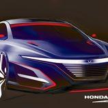 US-specs Honda Civic sedan Type-R sketch by Clément Morice
