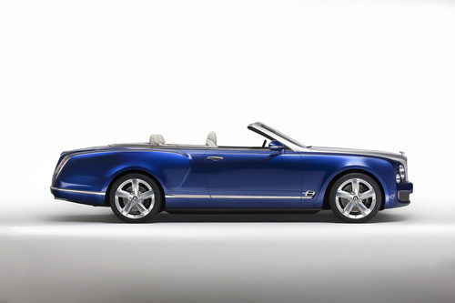 Bentley Grand Convertible - side