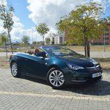 Prueba: Opel Cabrio - Frontal sin capota
