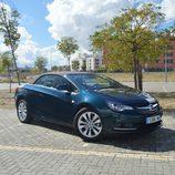 Prueba: Opel Cabrio - Frontal con capota