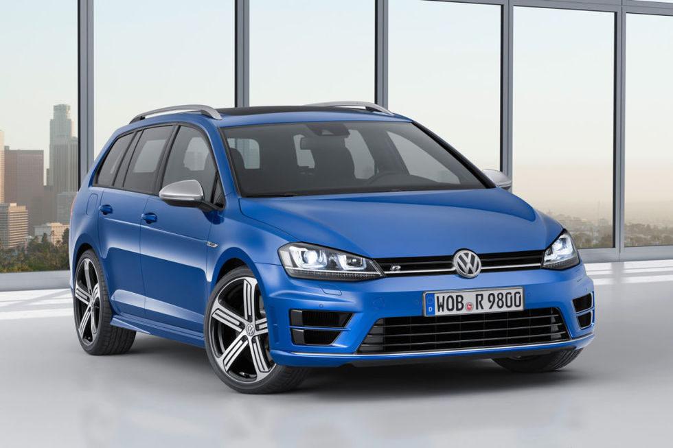 Nuevo Volkswagen Golf R Variant 2015