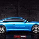 Render Audi A9 - lateral