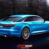 Render Audi A9 - back
