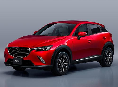 Mazda CX-3 2015 - 3/4 Frontal