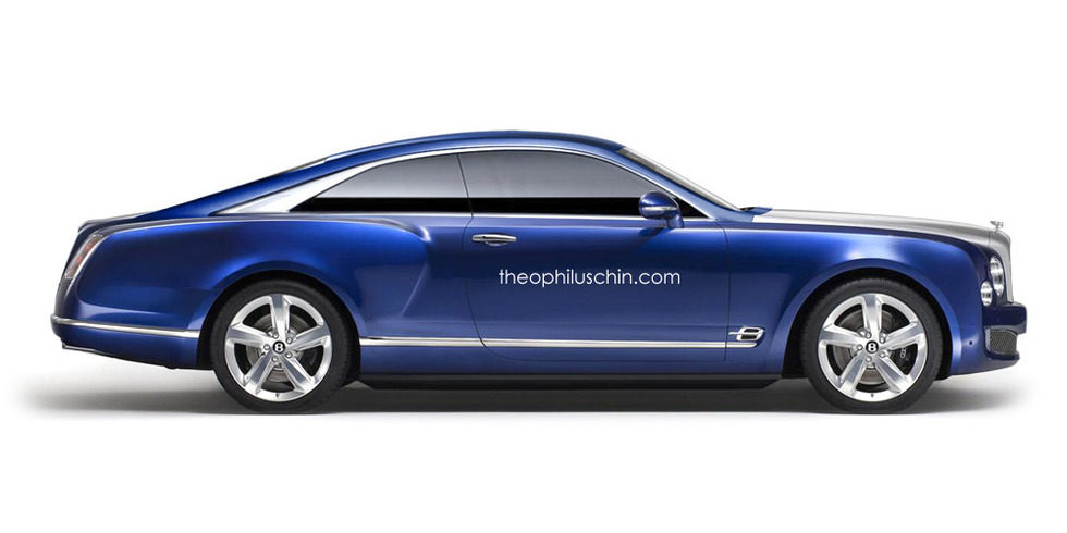 Bentley Brooklands render by Theophilus Chin