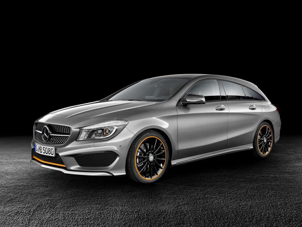 Mercedes Benz CLA Shooting Brake OrangeArt Edition