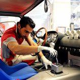 Ferrari Classiche 250 GTO Restoration - working