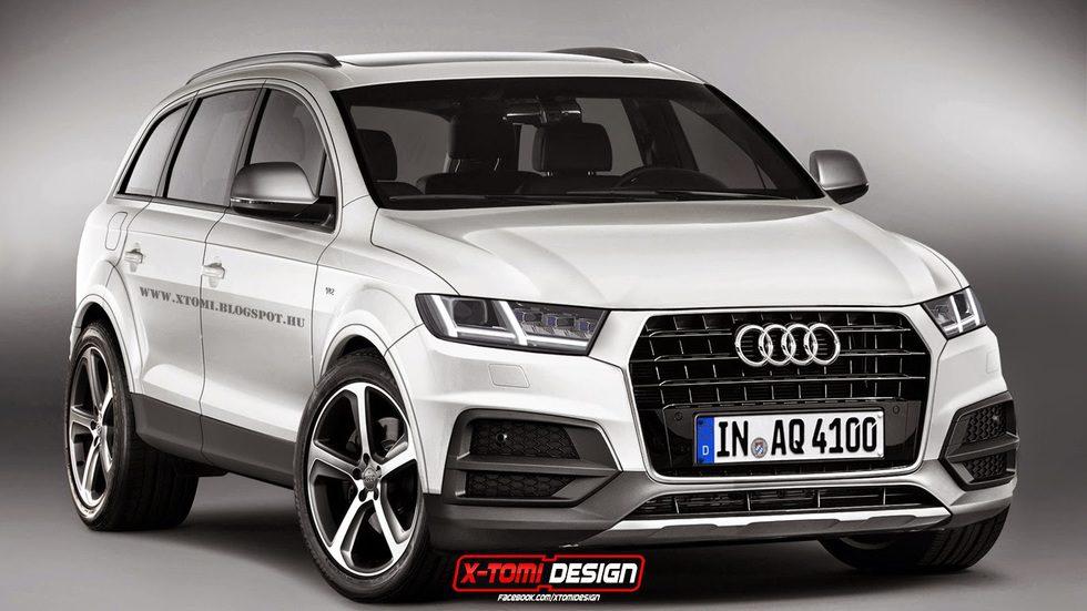 Audi Q7 2016 render
