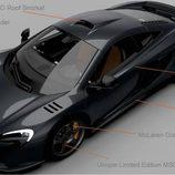 McLaren 650S MSO Limited Edition aérea