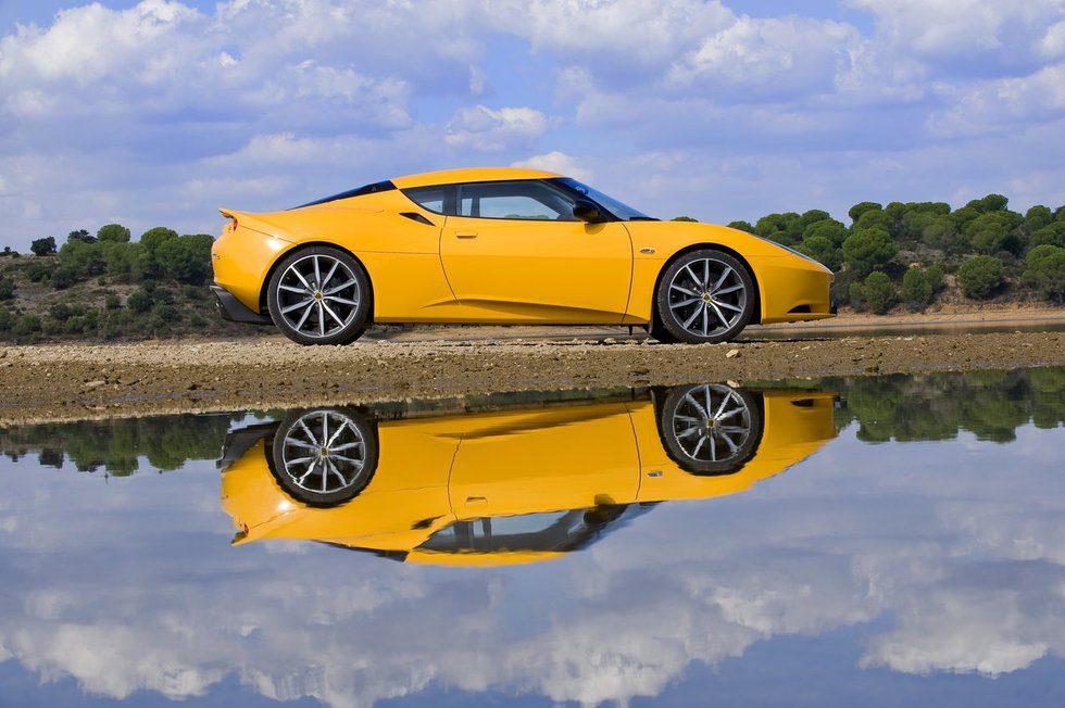 Lotus Evora S - lateral