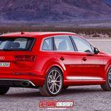Audi RS Q7 render - back