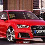 Audi RS3 3 puertas render