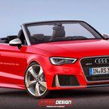 Audi RS3 cabrio render