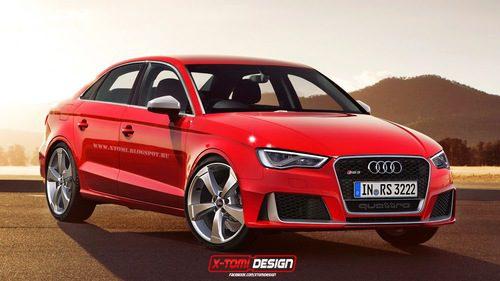 Audi RS3 sedán render