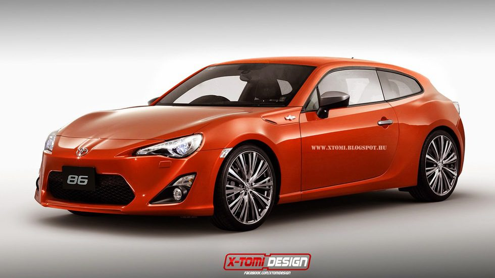 Toyota GT-86 Shooting Brake by X-Tomi
