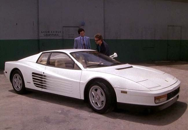 """Ferrari Testarossa 1986 """"Miami Vice"""" - serie"""