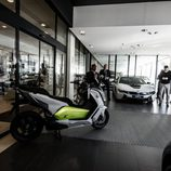 Presentación BMW Serie i - scooter