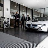 BMW i8 coupé - presentación Serie i