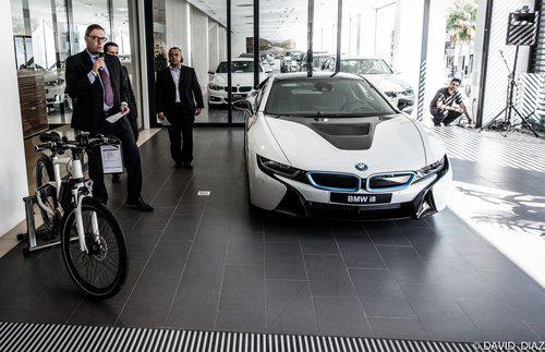 BMW i8 - presentación