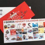 Calendario de adviento Qoros