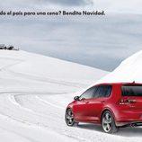 Volkswagen Golf snow