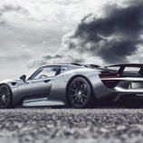 Porsche 918 Spyder - paisaje