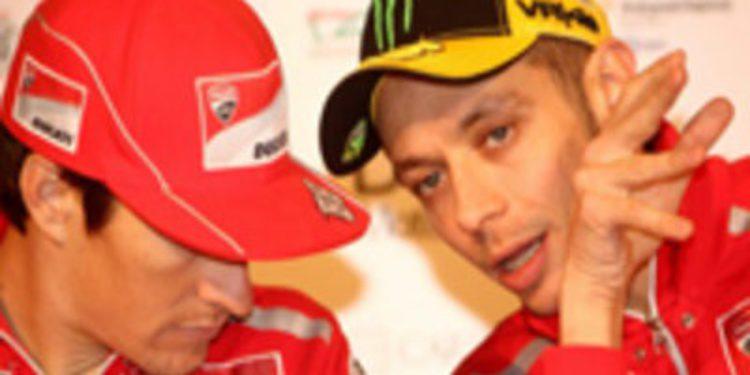 Ducati reitera que todo va bien y que no están preocupados