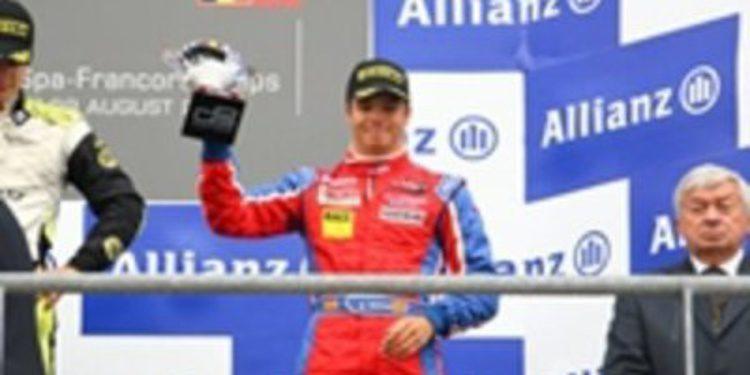 Monrás da el salto a la Formula 2