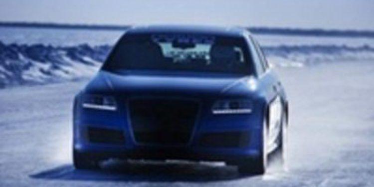 Audi no se queda frío: Nuevo record sobre hielo