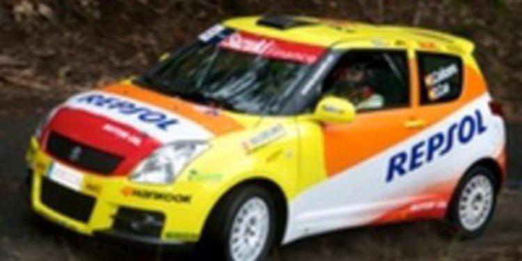 Primeros test para Suzuki de cara al Campeonato de España de Rallies
