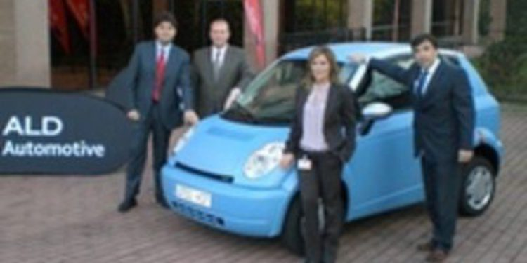ALD Automotive incorpora a su flota el eléctrico Think City