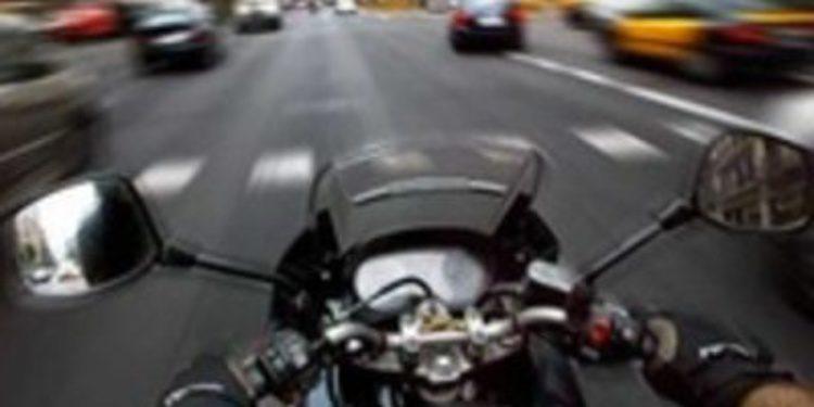 Un motorista, cazado a 197 km/h cuando el límite era de 50km/h