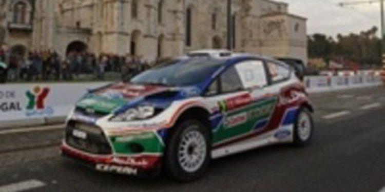 Hirvonen manda un recadito a los Citroen ganando la etapa inaugural en Portugal