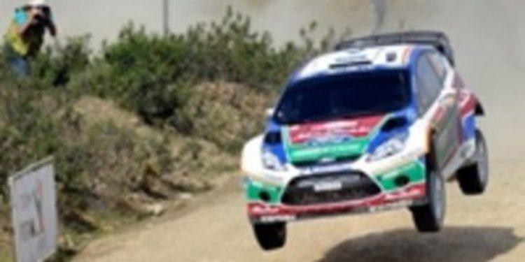 Latvala, líder en la primera jornada del Rally de Portugal