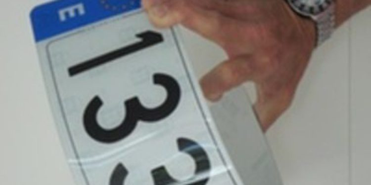 Permitidas las 'ecomatrículas' en España