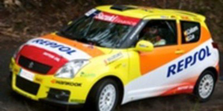 El equipo Suzuki Ibérica preparado para comenzar el Nacional de Rallies