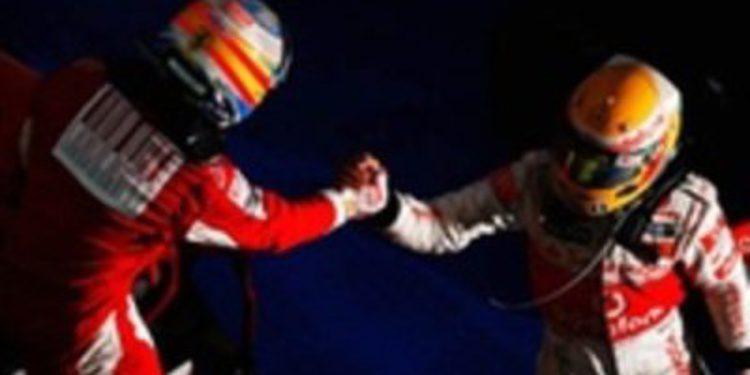"""Hamilton: """"Veo a Alonso como mi Prost"""""""