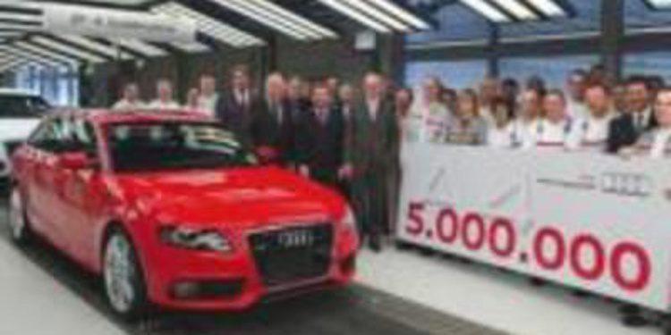 Audi A4: 5 millones de unidades producidas