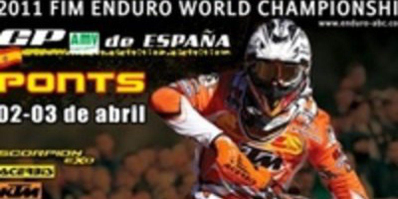 El Mundial de Enduro comienza hoy en Ponts, Lleida
