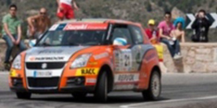 Pablo Pazó se impone en el Rallye de La Vila en la Copa Suzuki Swift