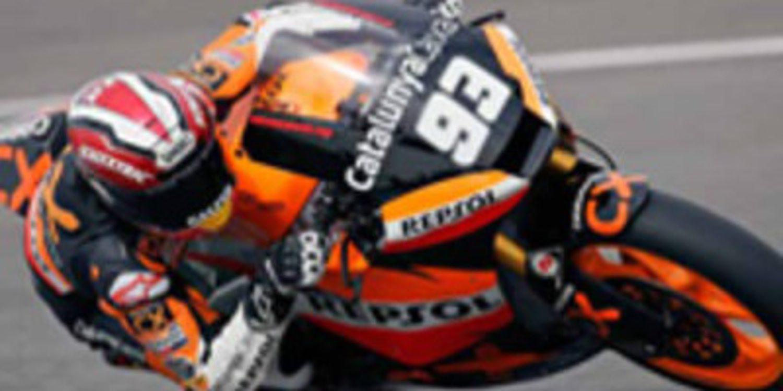 Marc Márquez contento tras seguir evolucionando su Suter en Jerez