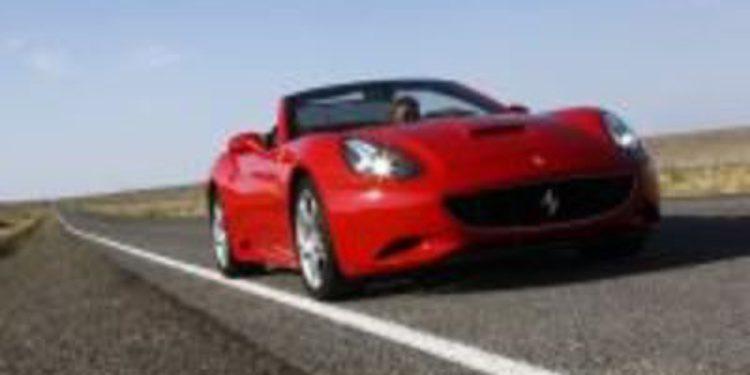 En 2010, el 46% de los Ferrari vendidos fueron 'California'