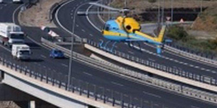 La DGT estudia instalar radares en sus helicópteros