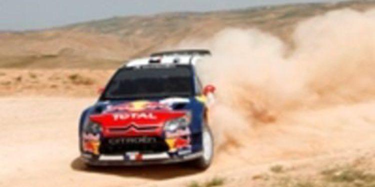 La primera jornada del Rally de Jordania estará sujeta a cambios