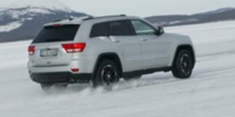 El Jeep Grand Cherokee se pone a prueba en las pistas de hielo de Arjeplog