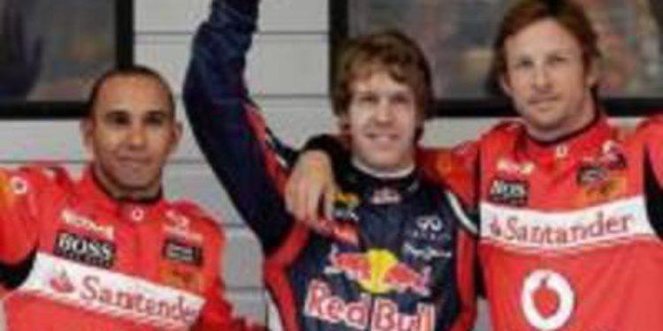 Vettel saldrá primero en el GP de China por delante de Button. Alonso quinto.