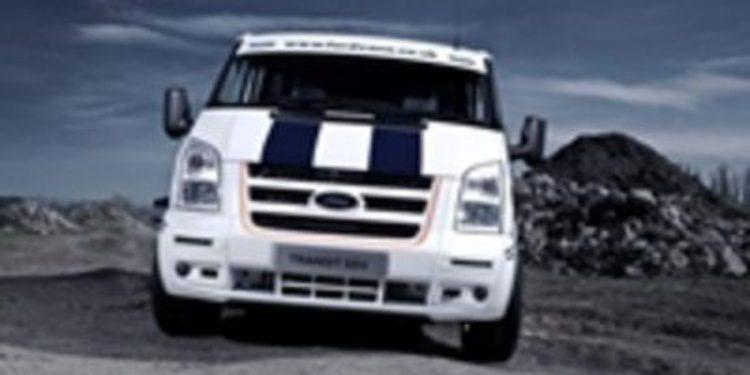 Ford Transit SuperSportVan: un comercial con aires deportivos