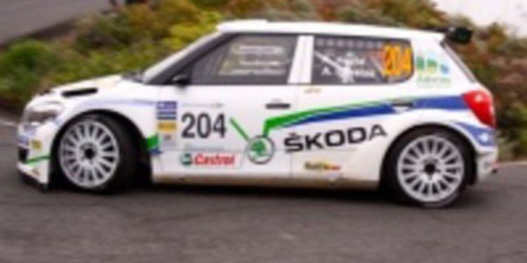 Hevia califica su Fabia S2000 de fabuloso pero se queja de la suspensión